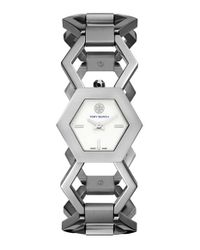 Tory Burch | Metallic 'amelia' Bracelet Watch | Lyst