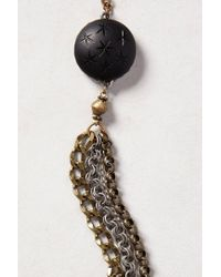 Anthropologie - Metallic Starburst Chain Bracelet - Lyst