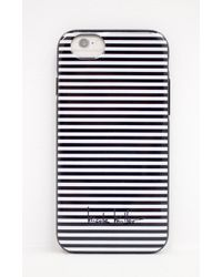 Nicole Miller - White Iphone 6 Striped Hardshell Case - Lyst