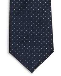 DKNY - Blue Pin Dot Tie for Men - Lyst