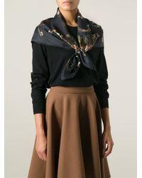 Dolce & Gabbana - Black Key Print Scarf - Lyst