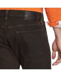 Polo Ralph Lauren - Brown Varick Slim Straight Jean for Men - Lyst
