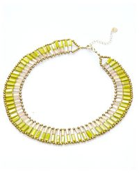 Nakamol | Multicolor Dual Personality Necklace-serpentine/citrine | Lyst