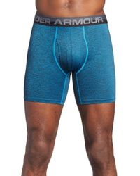 Under Armour | Blue Stretch Boxer Briefs for Men | Lyst