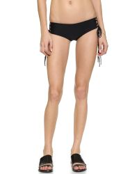 Mikoh Swimwear | Black Vanuato Bikini Bottoms - Night | Lyst