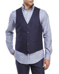 Moods Of Norway - Blue Stein Victor Vest for Men - Lyst