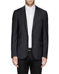 PS by Paul Smith - Blue Slim Fit Blazer for Men - Lyst