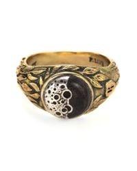 Pamela Love   Metallic Diana Moon Ring   Lyst