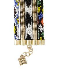 BCBGMAXAZRIA - Multicolor Tribal Seed Bead Bracelet - Lyst