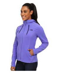 The North Face | Purple Mezzaluna Hoodie | Lyst