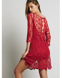 Free People - Pink Jen S Pirate Booty X Womens Jpb Pixie Dress - Lyst