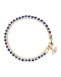 Astley Clarke | Blue Lapis Evil Eye Friendship Bracelet | Lyst