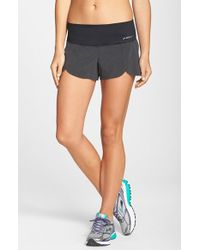 Brooks | Black 'racey' Lined Running Shorts | Lyst