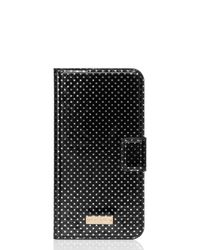 kate spade new york | Black Tiny Gold Dot Iphone 6 Plus Folio | Lyst
