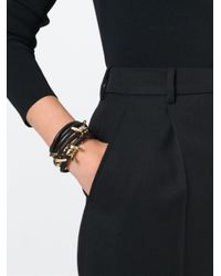 DSquared² | Black Barbed Wire Bracelet | Lyst