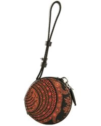 Givenchy - Red Paisley Coin Pouch - Lyst