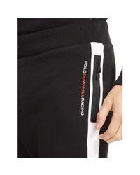 Polo Ralph Lauren - Black Cotton-blend-fleece Pant for Men - Lyst