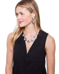 BaubleBar - Metallic Crystal Mesopotamia Collar - Lyst