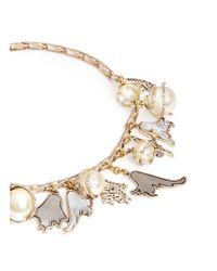 Lulu Frost | Metallic 'delirium' Charm Necklace | Lyst