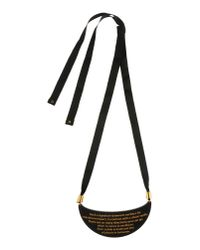 A'n'd | Black Necklace | Lyst