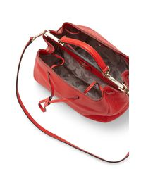 Rebecca Minkoff | Red India Drawstring Satchel | Lyst