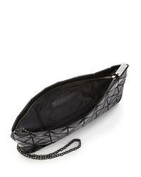Bao Bao Issey Miyake - Black Prism Basic Faux Patent Leather Shoulder Bag - Lyst