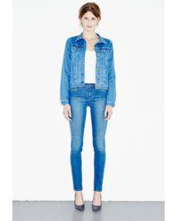 M.i.h Jeans - Blue Straight Denim Jacket - Lyst