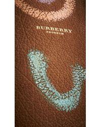 Burberry - Brown The Bloomsbury in Handpainted Nubuck - Lyst