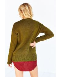 BDG - Green Boyfriend Sweater - Lyst