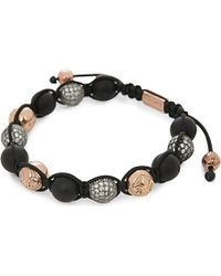 Nialaya | Black Multi-bead Onyx Bracelet - For Men | Lyst