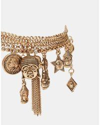 ALDO | Metallic Testo Charm Multipack Bracelets | Lyst