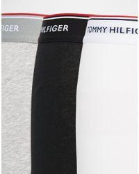 Tommy Hilfiger - Multicolor 3 Pack Premium Essentials Low Rise Trunk for Men - Lyst