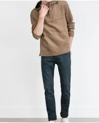 Zara | Blue Slim Jeans for Men | Lyst