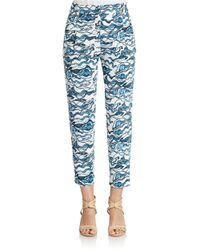 Essentiel Antwerp - Multicolor Relaxed Ankle Length Pants - Lyst