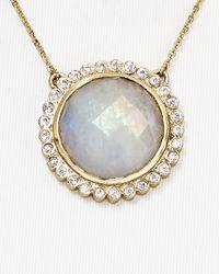 "Melinda Maria - Metallic Skylar Necklace, 19"" - Lyst"
