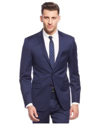 DKNY - Blue New Navy Chino Extra Slim-fit Suit for Men - Lyst