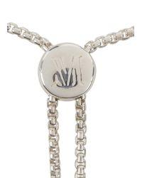 Monica Vinader - Metallic Fiji Strerling Silver Bracelet - Lyst