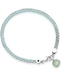Astley Clarke | Metallic Silver Fascination With Aventurine Bracelet | Lyst