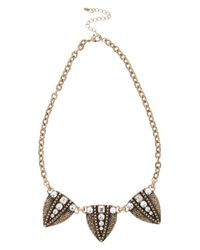 Oasis | Metallic Arrow Necklace | Lyst