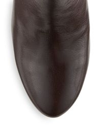 Nine West | Brown Vintage Leather Boots | Lyst