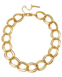 Kenneth Cole | Metallic Gold-tone Large Link Necklace | Lyst