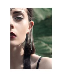 Bug | Metallic Evie Continuous Ear Chains | Lyst
