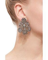 Simon Teakle - Multicolor 18th Century Diamond Girandole Convertible Earrings - Lyst