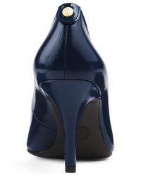 Michael Kors | Blue Michael Mk Flex Mid Pointed-toe Pumps | Lyst