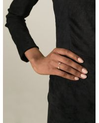 Ruifier - Metallic Visage Pearl Ring - Lyst