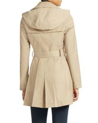 Via Spiga | Natural Double Breasted Scarpa Trench | Lyst