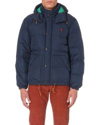 Ralph Lauren | Blue Elmwood Quilted Shell Jacket for Men | Lyst