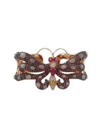 Wendy Yue - Metallic Sapphire Butterfly Cuff - Lyst