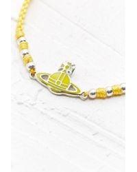 Vivienne Westwood | Kate Friendship Bracelet in Yellow | Lyst