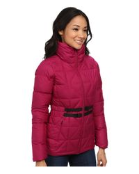 The North Face | Purple Belted Mera Peak Jacket | Lyst